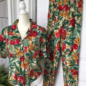 VTG Shirt and Pant Set